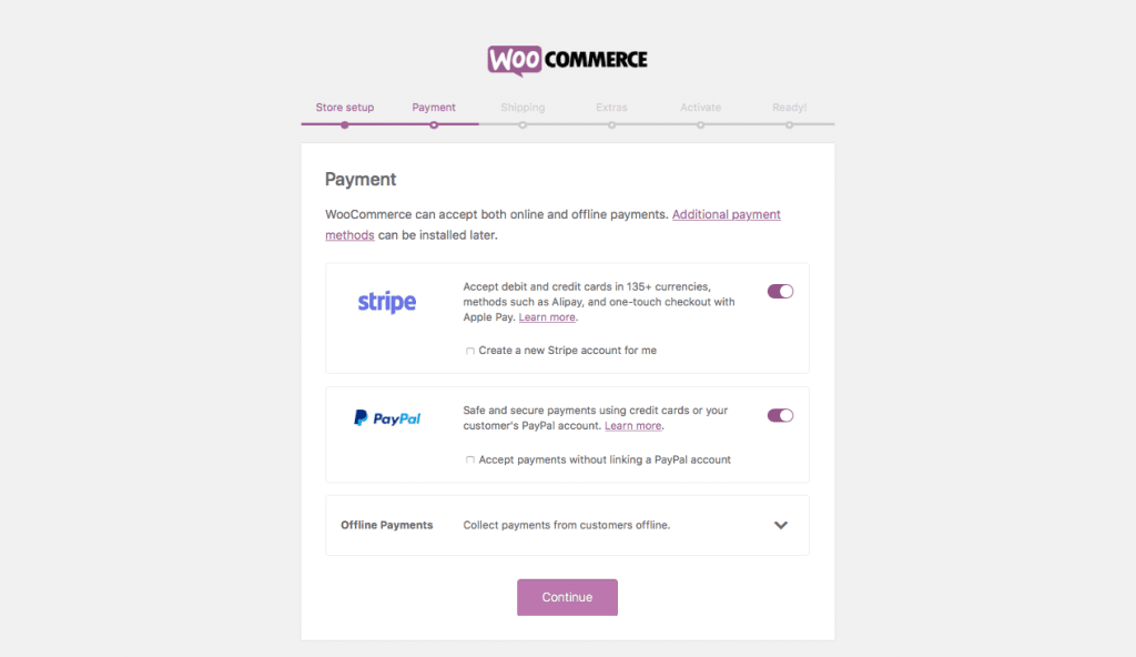 WooCommerce WordPress Payment Setup